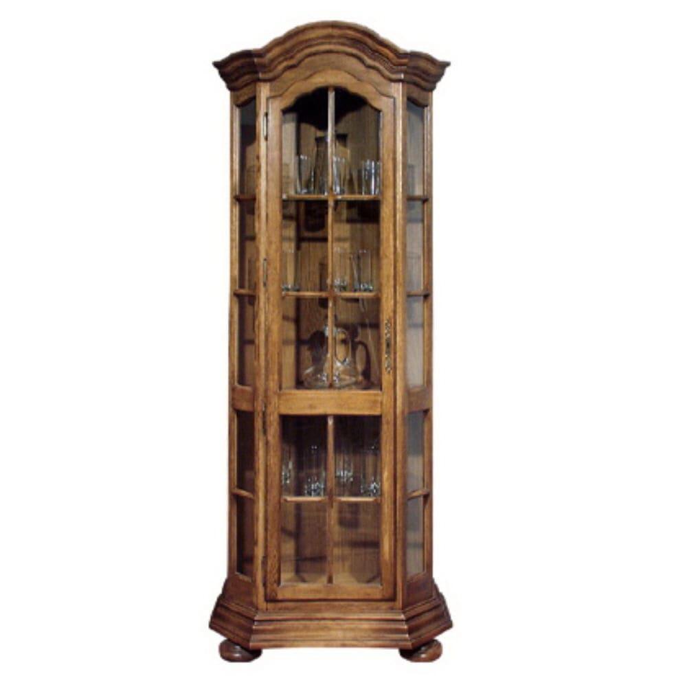 Шкаф  с витриной (угловой, левый)  ГМ 5268-01 (Sale)