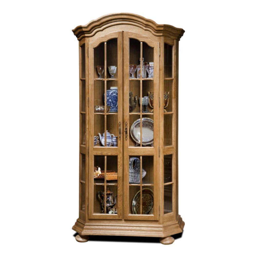 Шкаф  с витриной (с зеркалом) ГМ 5269С (Sale)