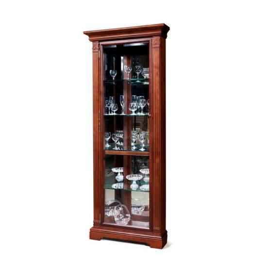 Шкаф  с витриной (угловой, левый) ГМ 5915Е-01