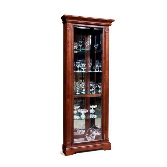 Шкаф  с витриной (угловой, правый) ГМ 5915Е