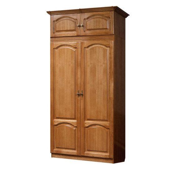 Шкаф  для платья и белья ГМ 8422 (дуб)
