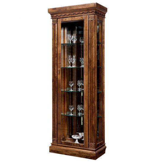 Шкаф  с витриной (левый) ГМ 5801-01