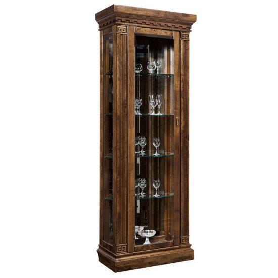Шкаф  с витриной (правый) ГМ 5801