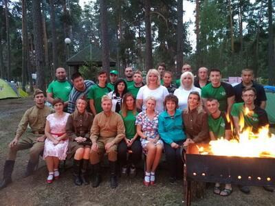 Республиканский туристический слет концерна «Беллесбумпром»