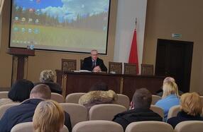 Встреча делегата Всебелорусского народного собрания с трудовым коллективом