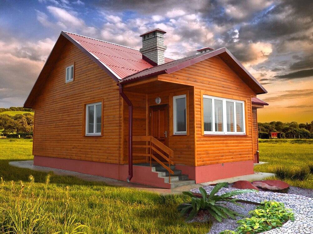 Комплект каркасно-щитового дома «Днепр–2»