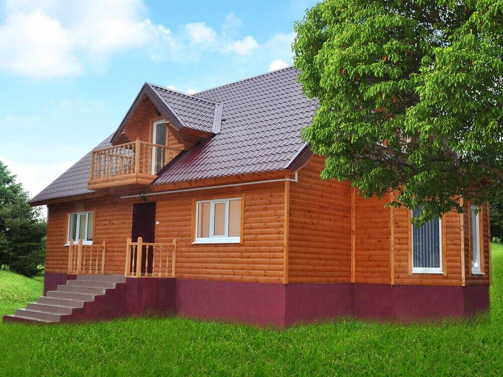 Комплект каркасно-щитового дома «Ипуть»